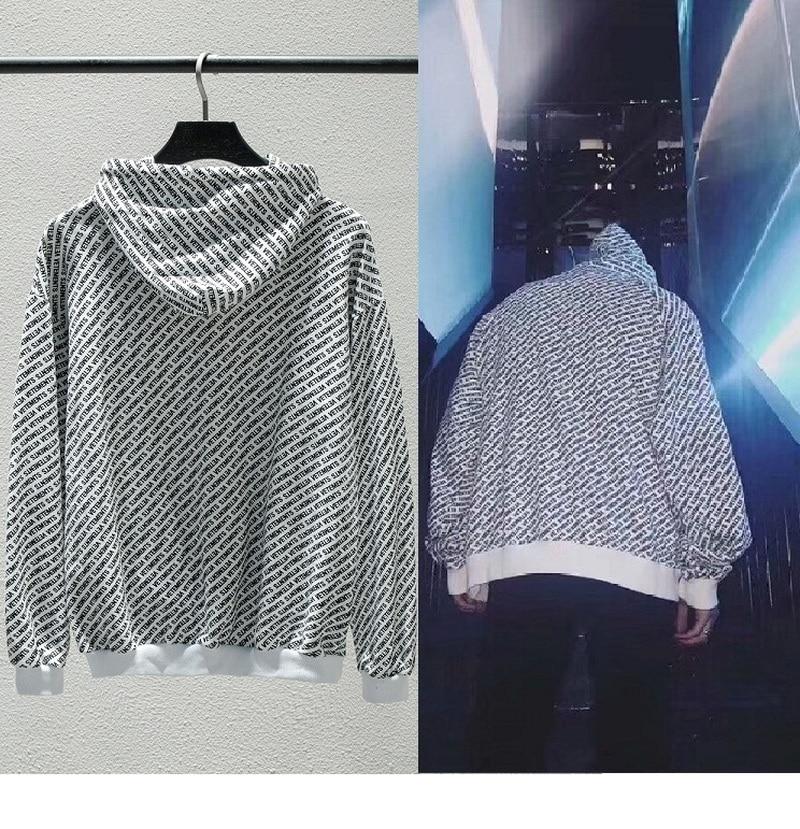 VETEMENTS Hoodies Men Women Streetwear Unicorns Rainboms Full Printed Letters Sweatshirts Embroidery Cotton VETEMENTS Hoodie