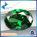 50Pcs Oval Shape  5A Green CZ Stone 3x5-10x12mm Synthetic Gems Cubic Zirconia For Jewelry