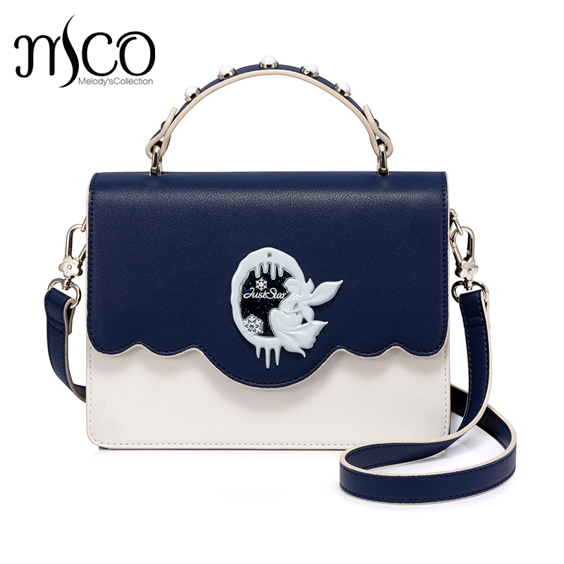 Brand designer Snow Queen Rivet PU leather luxury handbags women shoulder bags crossbody bags Sac a Main femme de marque brand luxury women leather handbags women s trunk bolsos messenger bags shoulder bag sac a main femme de marque