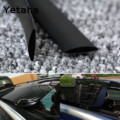 Yetaha 5 Meters Waterproof Rubber Sealing Strips Trim Weatherstrip For Auto Car Front Rear Windshield Sunroof Triangular Window