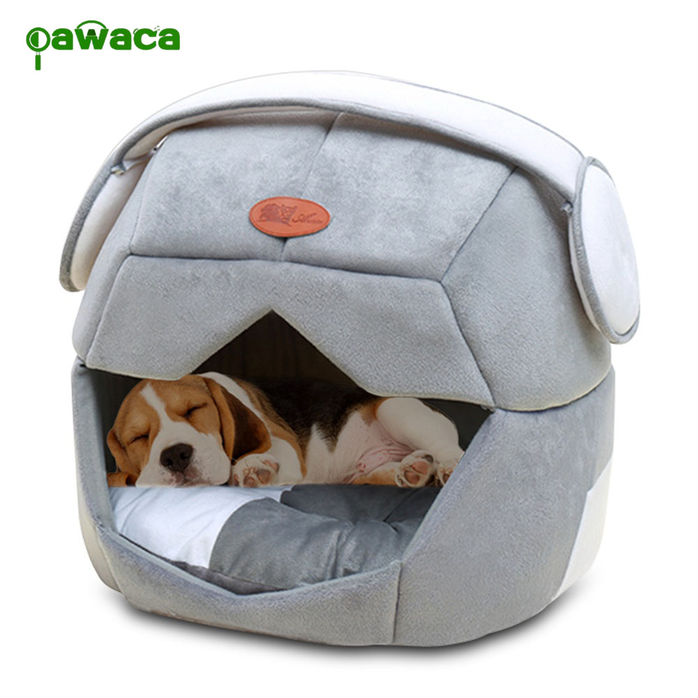 Pet Nest 2 Uses Foldable Soft Warm Space Helmet Pet Cat Dog Bed For Dogs Cave Puppy Sleeping Mat Pad Nest Blanket For Cats House