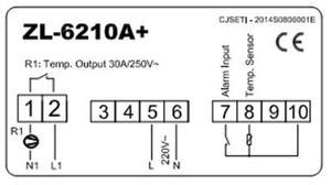 Image 4 - ZL 6210A +, salida 30A, controlador de temperatura, termostato Digital, Lilytech
