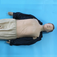 BIX/CPR480 First Aid Medical Manikin Advanced Multifunctional CPR Training Model