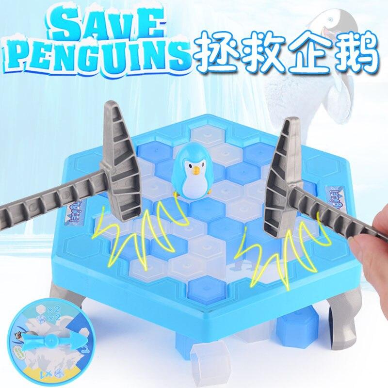 MINI Ice Breaking Salvați Penguin Family Fun Game Penguin Trap - Produse noi și jucării umoristice