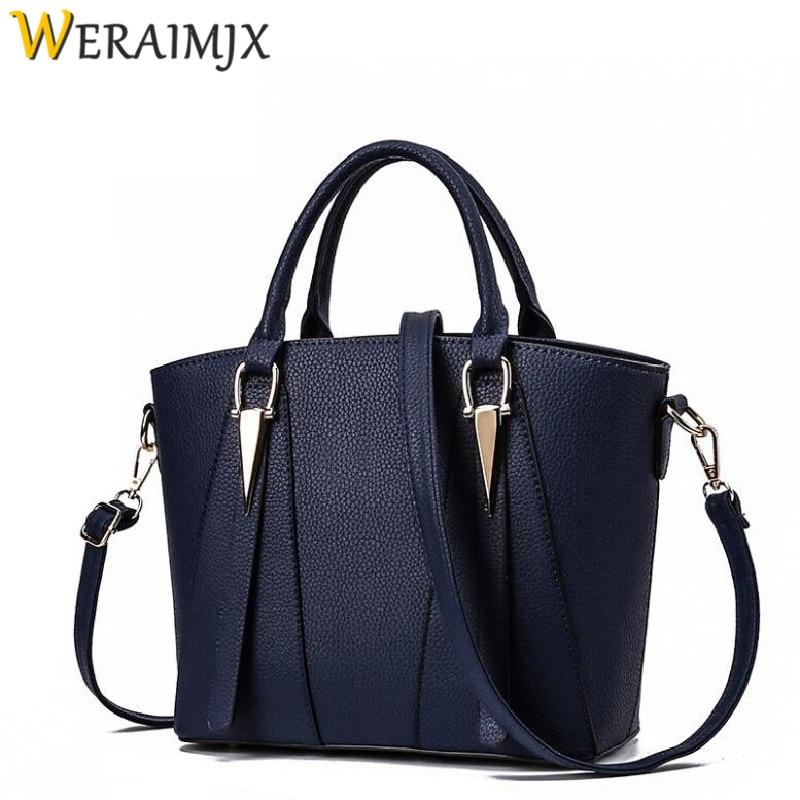 WERAIMJX Women Bag Fashion Women 39 s Handbags Cheap Flap Bags for Women 2019 Shoulder Bags Torebki Damskie Crossbody Bags MJ233 in Top Handle Bags from Luggage amp Bags