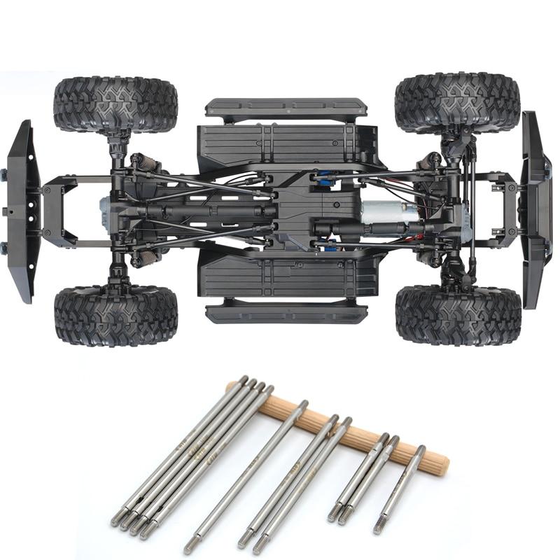 цена Free shipping 1/10 Climbing Rc Car Upgrade Part High strength Antirust Titanium Alloy Rods FOR TRAXXAS TRX4 TRX-4