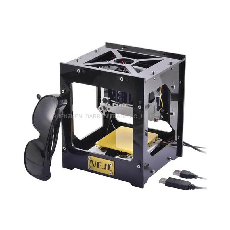 300mW USB DIY Laser Engraver Cutter Engraving Cutting Machine Laser Printer Engraving Wood Router