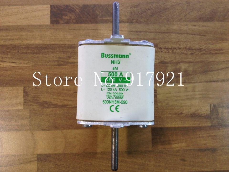 цена на [ZOB] The United States Bussmann NH3 500NH3M-690 500A690V fuse fuse original --2pcs/lot