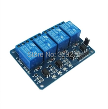Free Shipping 1pcs 4 Channel Relay Module Shield ARM PIC AVR DSP Raspberry PI 5V 4-channel Relay Module For Arduino