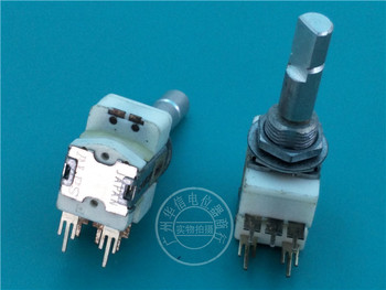 Japan ALPS Encoder with Push Switch Step 30 point Handle length 25MM switch