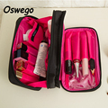 Double layer Large Capacity Toiletry Bag Nylon Cloth Zipper Storage Pouch Portable Women Travel Cosmetic Wash Bag cosmetico