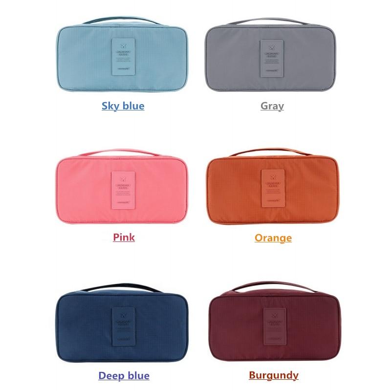bolsa de maquiagem Color : Pink, Orange, Burgundy, Gray, Sky Blue, Deep Blue.