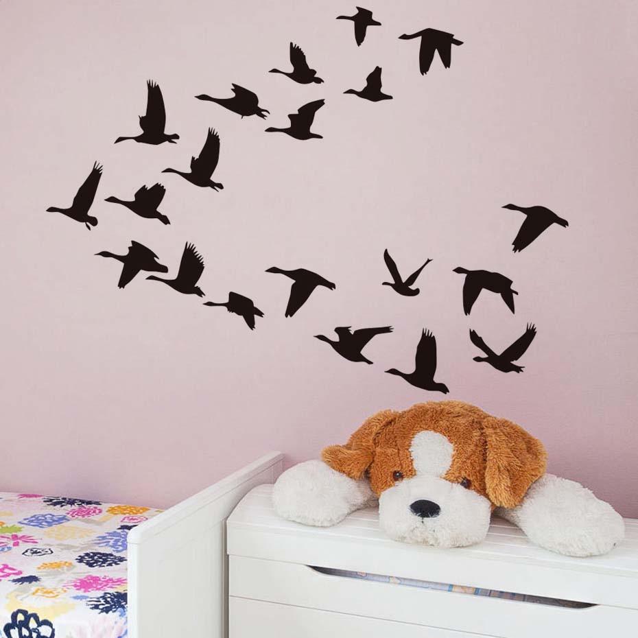 Flying Birds Diy Wall Sticker For Living Room Wall Decor Birds