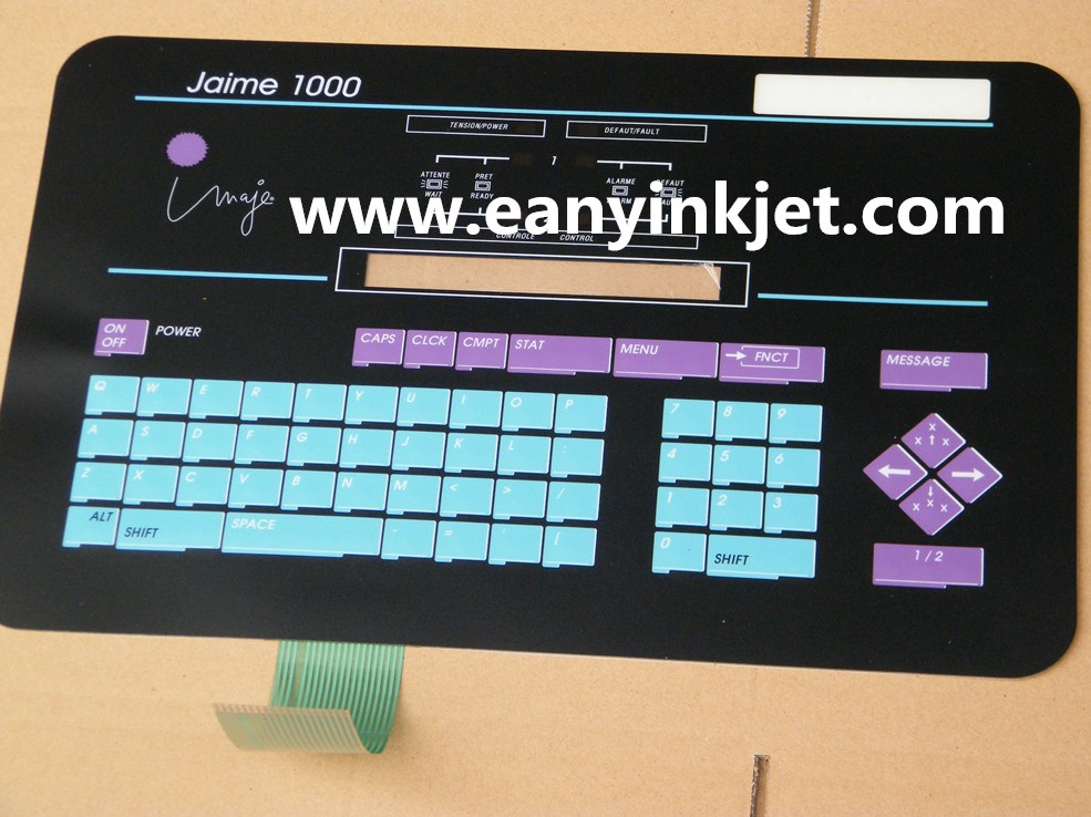 Imaje keyboard Imaje S4 master keyboard display ENM 18591 for Imaje S4 inkjet printer