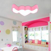 Современные Детская комната потолочный светодиодный Обувь для девочек принцесса Спальня лампа консультирование кабинет лампа мультфильм