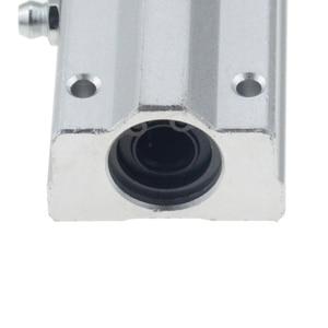 Image 4 - 2 cái/lốc SC16LUU SCS16LUU 16mm loại Tuyến Tính Bi Khối CNC Router với LM16LUU Bush Gối Chặn Tuyến Tính trục CNC 3D