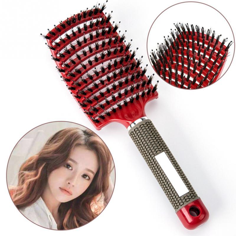 spazzola per capelli parrucchiere styling strumento 2017 donne capelli massaggio del cuoio capelluto pettine spazzola per capell