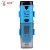 BSIDE BTH06 USB High Accuracy Temp Data Logger Temperature Recorder Temp Probe Outside Record The Data