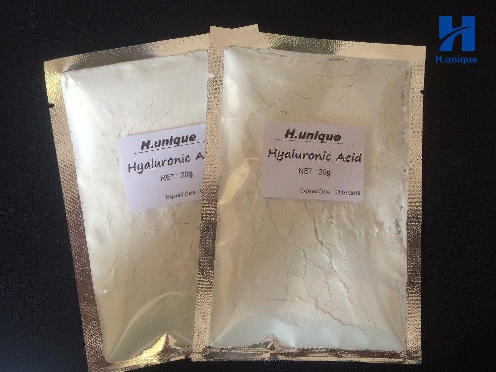 20g X 2packs Hyaluronic Acid Whitening Scars Acne Control Soft Powder Firming Lifting Anti Aging Hospital Equipment