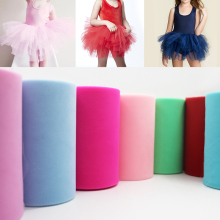 Tulle Roll 100 Yards Organza Wedding Decoration TUTU Baby Sh