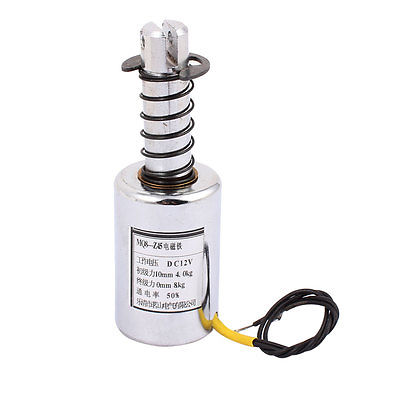 цена на MQ8-Z45 DC 12V/DC24V 10mm 4-8Kg Motion Cirect Current Solenoid Electromagnet