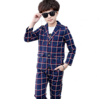 Baby Boy Clothes Sets 2018 New Kids Blazers Boy Suit For Weddings Prom Formal T Shirt