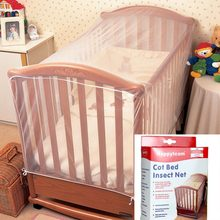 Baby Crib Cot Insect Mosquitoes Wasps Flies Net for Infant Bed folding Crib Netting Child Baby mosquito nets Crib Netting(China)