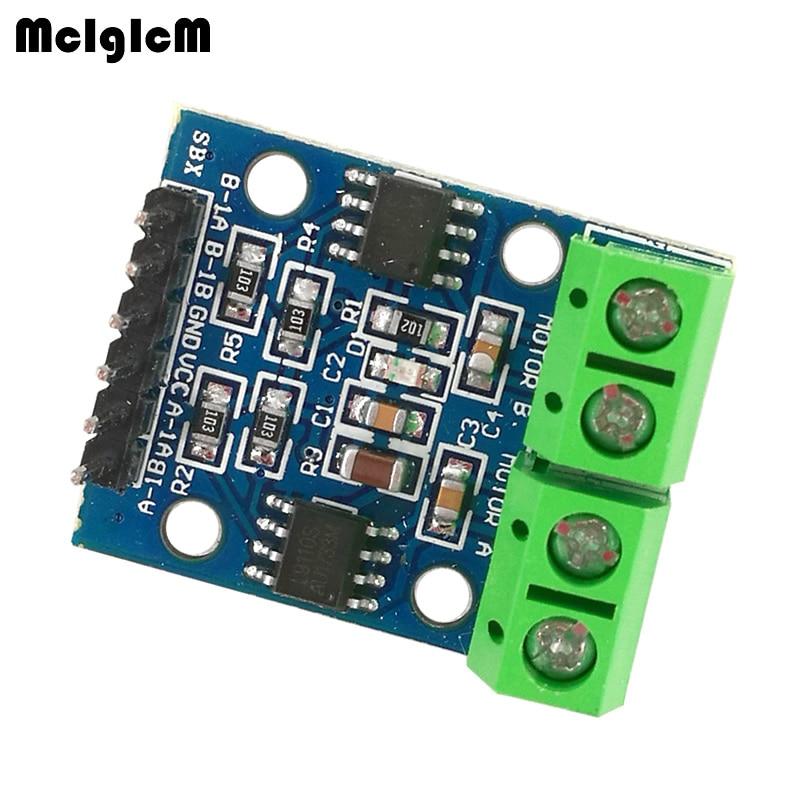 MCIGICM 新 N L9110S モジュールデュアル Dc モータドライバコントローラボード H ブリッジステッピングモータドライバボードモジュール  グループ上の 電子部品 & 用品 からの 集積回路 の中 1