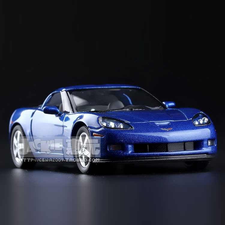 High Simulation Exquisite Diecasts&Toy Vehicles: Kinsmart Car Styling Chevrolet Corvette Z06 Sports Car 1:36 Alloy Diecast Model