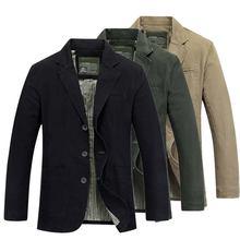 Модный мужской блейзер куртка хлопковое пальто повседневный