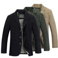 Fashion Mens Blazer Jacket Cotton Coat Casual Outdoor Blazer Masculino Mens Suits Military Blazer Brand Clothing Plus Size M-4XL blazer trussardi blazer