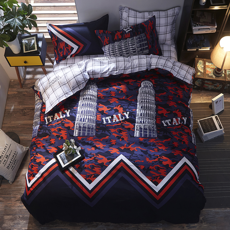 2018 big ben british fashion bed linen set queen double single size children duvet cover set