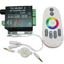 DC12-24V 18A RGB Music Controller RF Remote Intelligent Sonic Sensitivity Led Backlight Remote