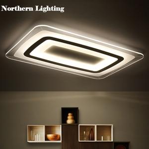 Image 2 - חדש מודרני LED תקרת אורות עם 2.4G RF מרחוק קבוצת Dimmable נשלט צבע לשינה בסלון led תקרת מנורות
