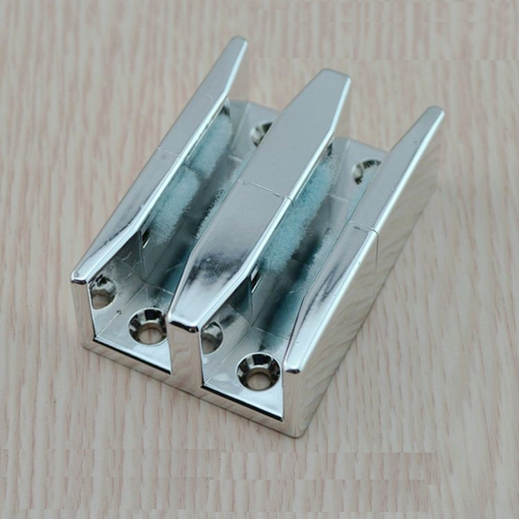 10pcslot sliding 810mm glass door stop shower box door abs with screws
