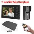 7 inch LCD 700TVL IR Camera Wireless WiFi IP Video Doorphone Video Intercom Doorbell Support IOS Android iPad Smart Phone Tablet