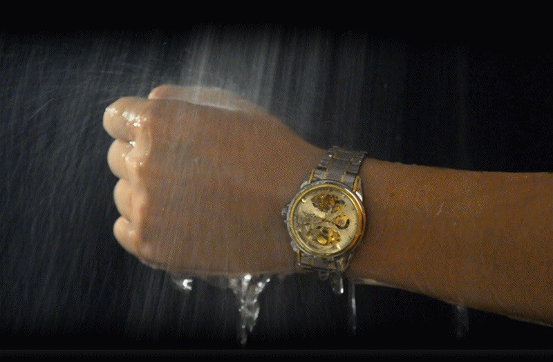 HTB1zSZ1blKw3KVjSZFOq6yrDVXaA Men's Watches Automatic Mechanical Gold Watch Male Skeleton Dial Waterproof Stainless Steel Band Bosck Sports Watches Self Wind