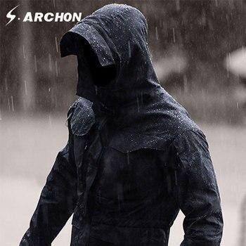 S. archon M65 Leger Kleren Tactische Windjack Mannen Winter Herfst Jas Waterdicht Antihechtende, Winddicht, wandelen jassen