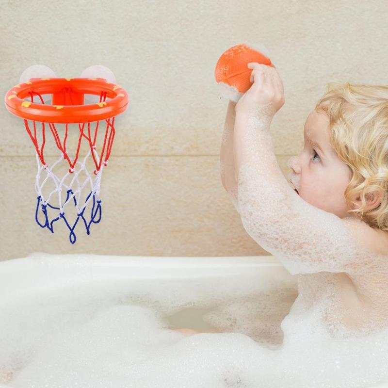 Kids Basketball Hoop Bathtub Water Play Set For Baby Educational Mini Gift Foam Beach Swimming Pool Toddler Bath Toys