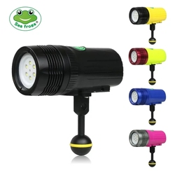 Meikon MK-18 Diving Flash light  Strobe Low Beam + laser multi-function for Waterpoof Video Camera Photography Scuba
