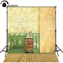 150 215cm 5ft 7ft photography backdrops vestido inverno Nostalgic retro style wall wood floor