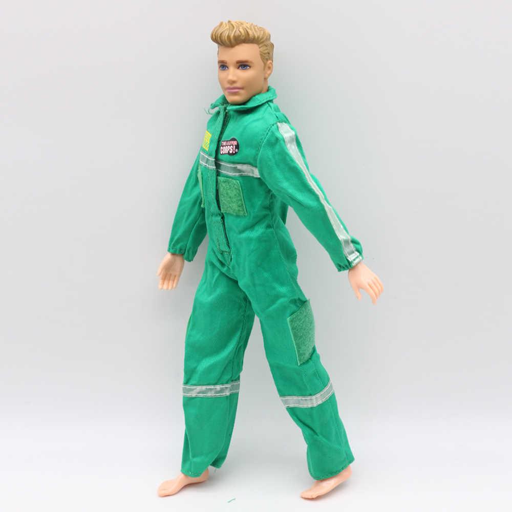 1 pièces vêtements de poupée Combat uniforme médical combinaisons tenue pour Barbie garçon mâle Ken poupée pour LANARD 1/6 soldat poupée G016
