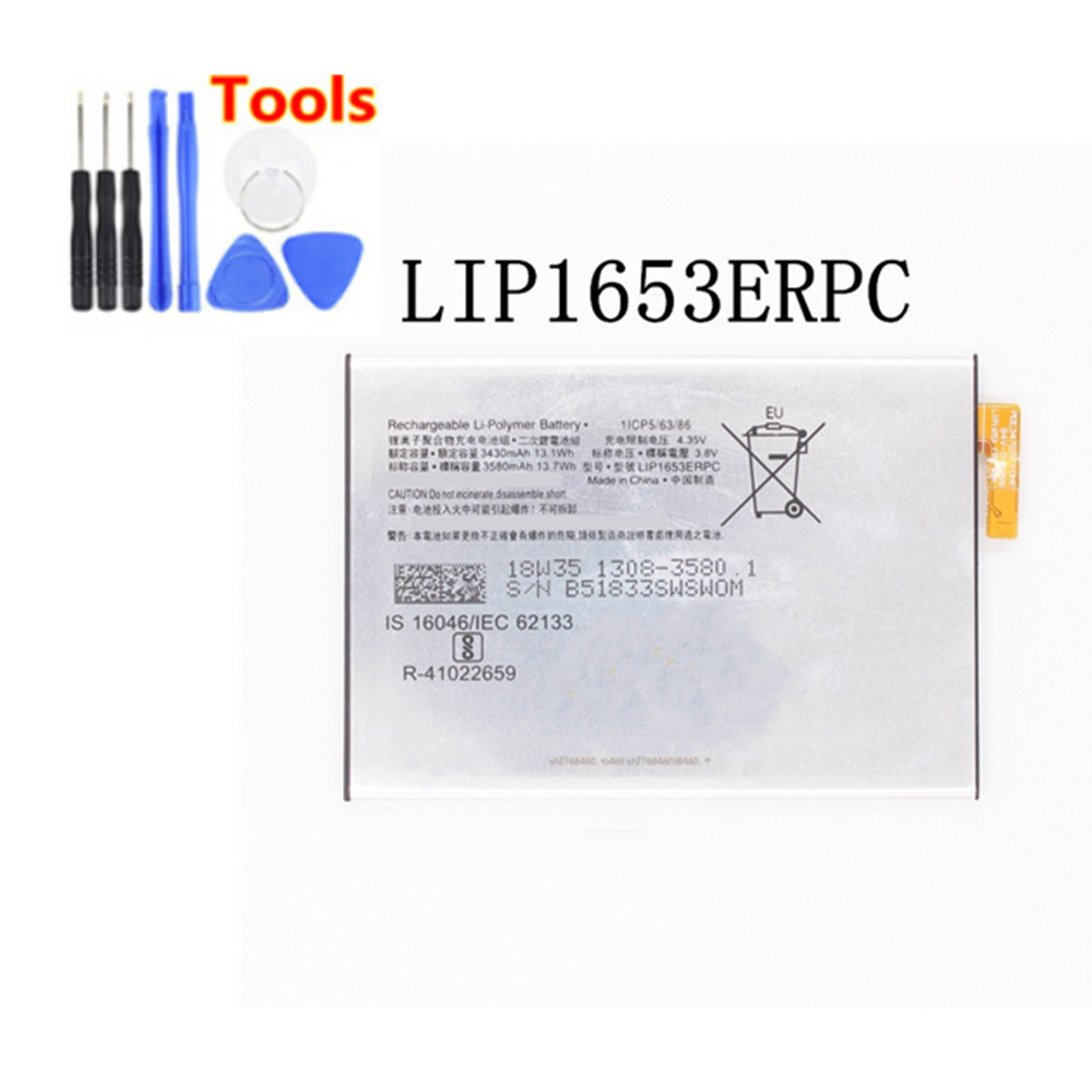New 3430mAh LIP1653ERPC Replacement <font><b>Battery</b></font> For Sony <font><b>Xperia</b></font> XA2 Ultra G3421 G3412 <font><b>XA1</b></font> Plus Dual H4213 Bateria + Free Tools image