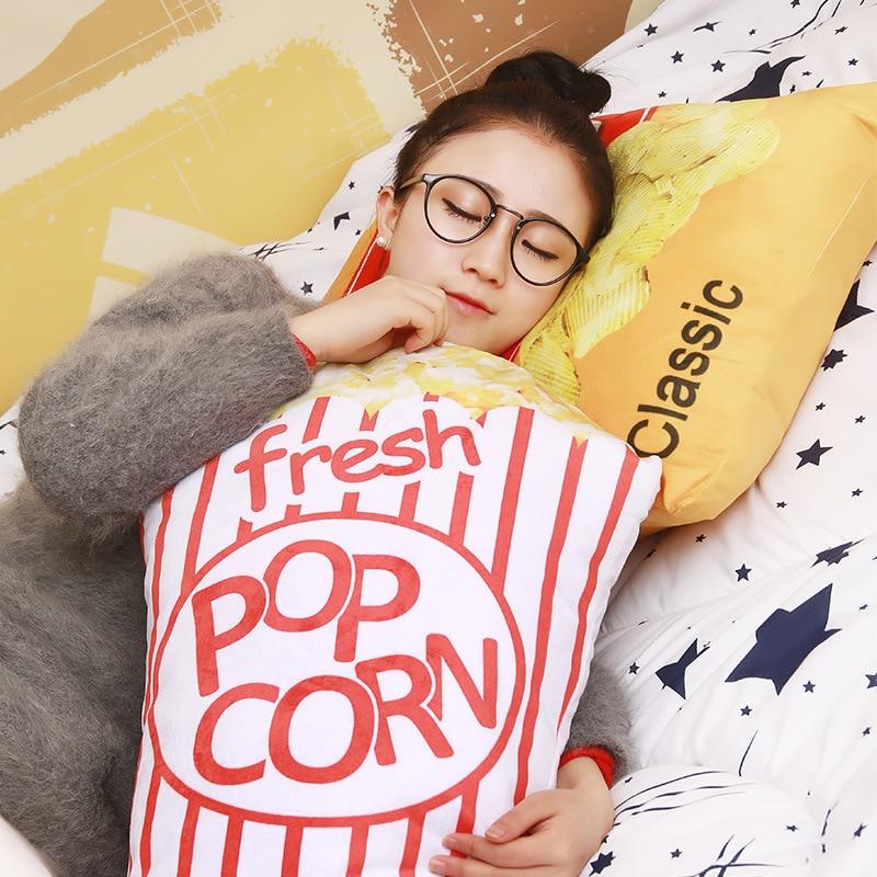 3d pop corn chips 1 pcs 55 cm pepsi cola mole travesseiro de pelucia travesseiro de
