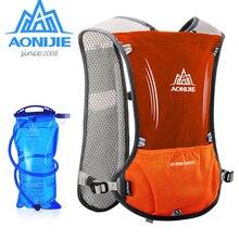 AONIJIE 5L Men Women Running Backpack Outdoor Sports Trail Racing Marathon Hiking Fitness Bag Hydration Vest Pack 600ml Kettle
