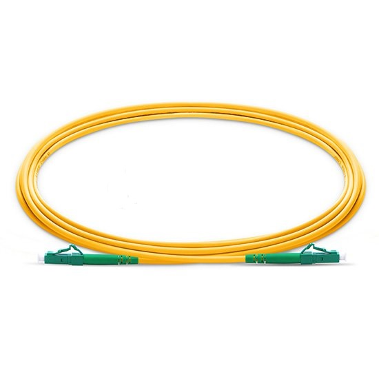 QIALAN 10 м (33 фута) lc apc к lc apc волокно Patchcord Simplex 2,0 мм G657A ПВХ (OFNR) 9/125 одномодовый волоконно оптический кабель-in Оптоволоконное оборудование from Мобильные телефоны и телекоммуникации