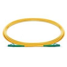 QIALAN 10 メートル (33ft) LC APC lc Apc パッチコードシンプレックス 2.0 ミリメートル G657A PVC (OFNR) 9/125 シングルモードファイバパッチケーブル