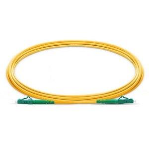 Image 1 - QIALAN 10m (33ft) LC APC to LC APC Fiber Patchcord Simplex 2.0mm G657A PVC(OFNR) 9/125 Single Mode Fiber Patch Cable