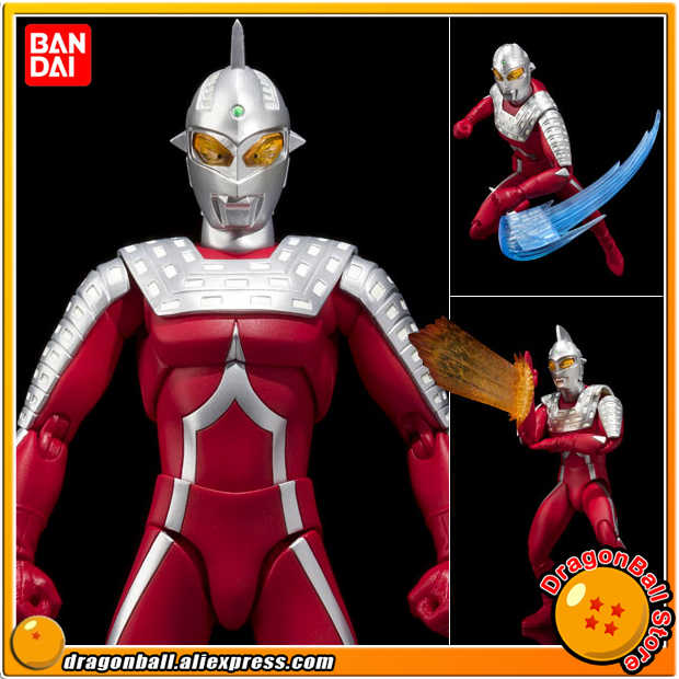 "Japan Anime ""Ultraman / Ultra Man"" Originele Bandai Tamashii Naties Ultra-Act/Shf Speelgoed Action Figure-Zeven 2.0"