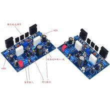 Bir Çift IRF240 100W + 100W Monte FET MOS stereo Amplifikatör Bitmiş Kurulu
